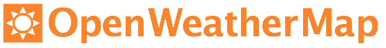 Logo openweathermap orange website